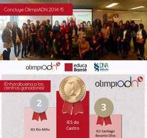 Resultados OlimpiADN Fundación Barrié