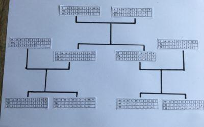Respuesta parcial de los parentescos por perfiles genéticos (2)